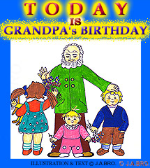 Today Is Grandpa's Birthday!