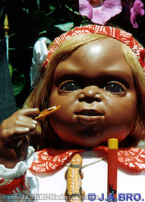 J.A.BRO'S Aboriginal doll